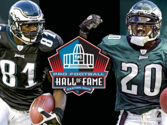 Brian Dawkins And Terrell Owens Have Been Elected Into The NFL Hall Of Fame