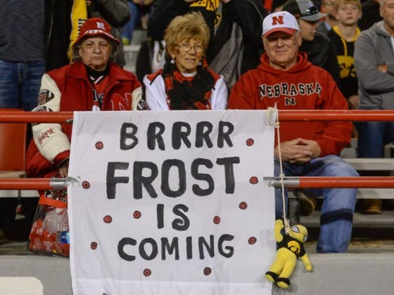 Nebraska Sold Out Their 90,000 Seat Stadium For Their Spring Game In Under 24 Hours #FrostIsComing
