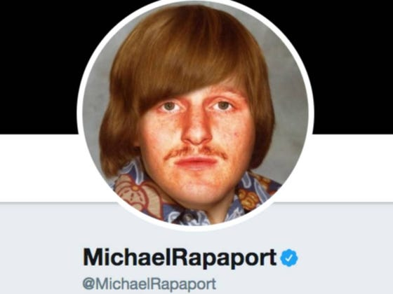 Damn, Snowflake Michael Rapaport Unfollowed Me On Twitter...Is It Something I Said?