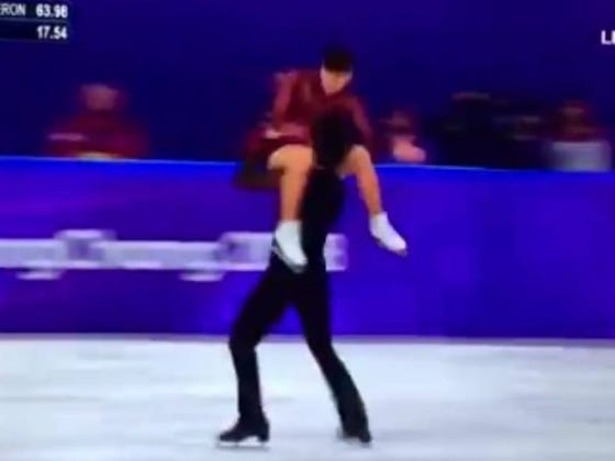Canadians Have an Ice Dance for the Ages, so Everyone Wants to Know if They're Doing It