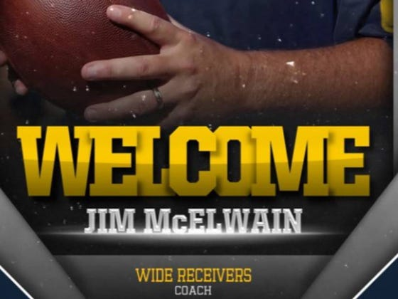 Michigan's Graphic To Welcome Jim McElwain As Their WR Coach Will Give You Nightmares