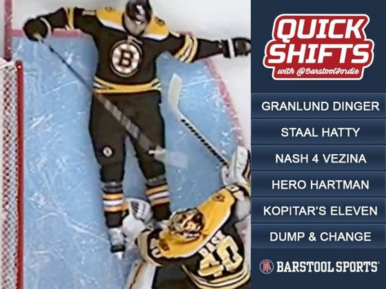 Quick Shifts 2/28: Do The Boston Bruins Have A Goalie Controversy Now With Rick Nash?