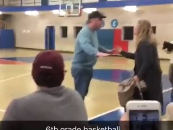 Parents Yelling At Each Other At A 6th Grade Sporting Event Is Always The Right Idea For Everyone Involved