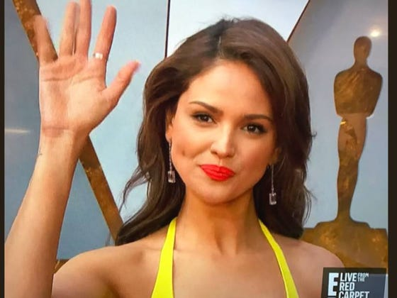 Eiza Gonzalez from Baby Driver Won All The Oscars Before They Even Started