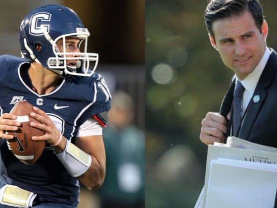 Pour One Out For Former UConn Trick Shot QB Who Was Fired By Trump, Escorted Out Of The White House And Currently Being Investigated Homeland Security