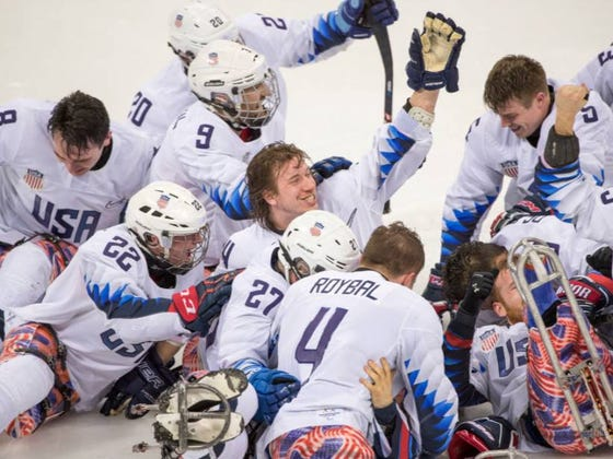 USA Sled Hockey Remains Dominant, Won Their 3rd Straight Gold Medal Yesterday Over Canada In Overtime