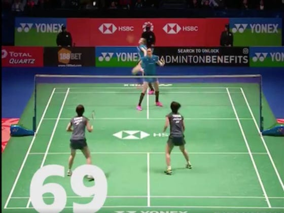 Burn 90 Seconds Of Your Day By Watching This Epic Badminton Rally
