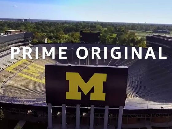 Amazon Releases Trailer For 8-Part Docuseries, Which Cost Them $2+ Million, Chronicling Michigan's 8-5 2017 Season