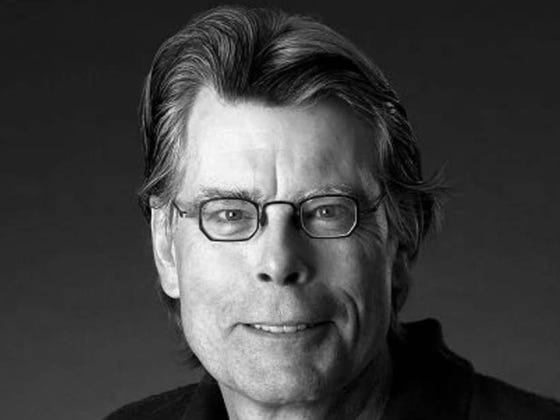 No Offense To Stephen King But His Glasses Are Too Small For His Head And It Makes Me Uncomfortable