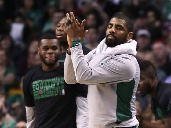 Kyrie's Surgery Went Well And The Team Expects Him To Be Ready By Camp