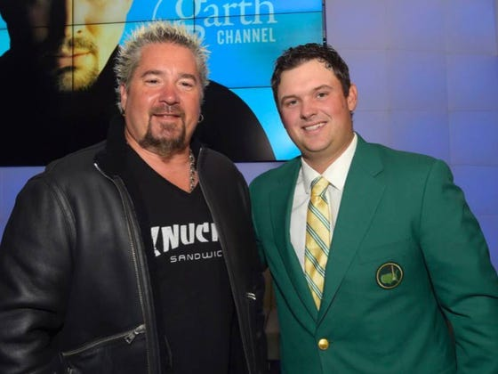 I'm Glad Patrick Reed Won The Masters Cause It Allowed This Picture To Happen