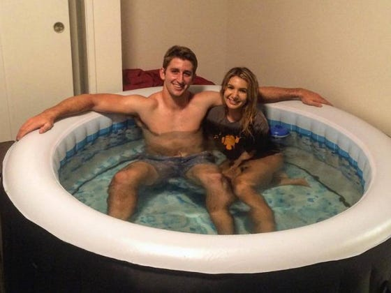 "Freshman Josh Rosen Accidentally Sent A Blow Up Hot Tub To His Mom's House Once, She Thought It Was ""Hilarious"" So She Brought It To His Dorm Room"