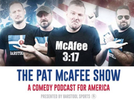 The Pat McAfee Show 4-12 Voice Of God
