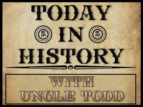 Today In History - April 13, 2018