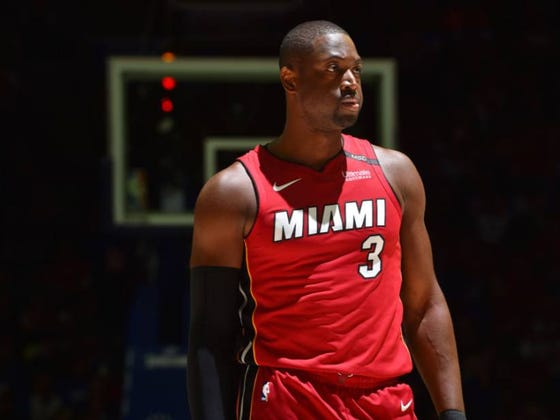 How About That Vintage Dwyane Wade