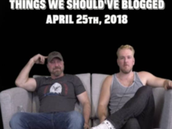 Things We Should've Blogged 4-25