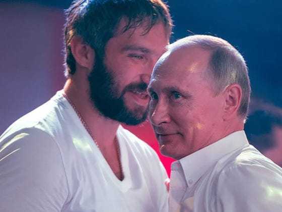 Should We Be Concerned That Putin Is Now Meddling In The Stanley Cup Playoffs?