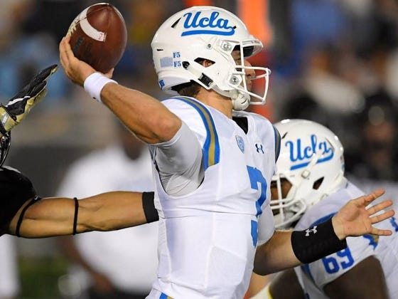 Turns Out The Browns Didn't Draft Josh Rosen (Partly) Because Of UCLA's Volleyball Coach