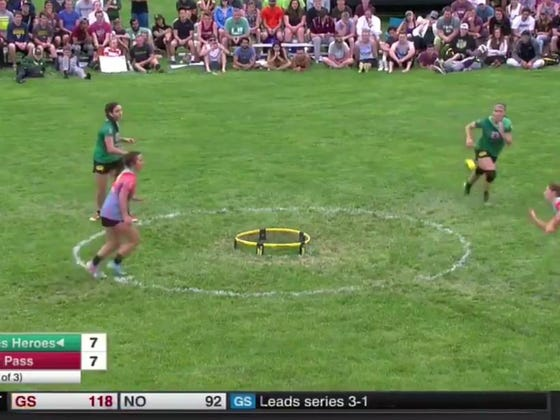 ESPN's Latest Attempt At Capturing The Millennial Market: Competitive Spikeball