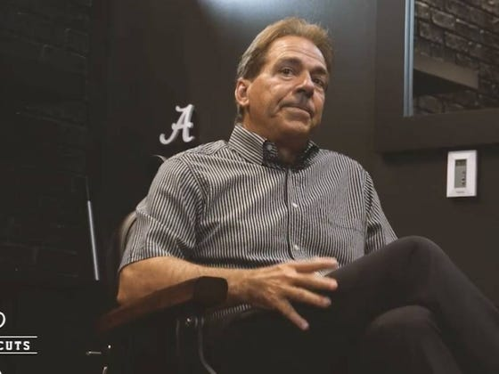 Nick Saban Isn't Concerned That Alabama Has Ran Out Of Room To Display For All Their Trophies, Instead He Has A Brilliant Plan