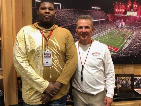 Introducing A 6'7, 370-Pound OL From Kentucky Who Just Happens To Be In 8th Grade
