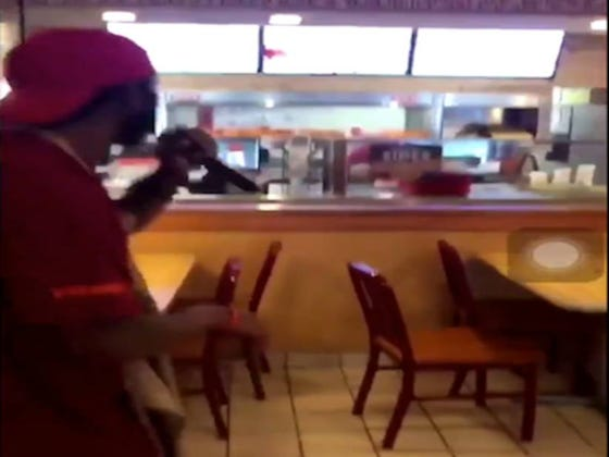Popeye's Worker Quits His Job By Dropping A Rap In The Middle Of The Store