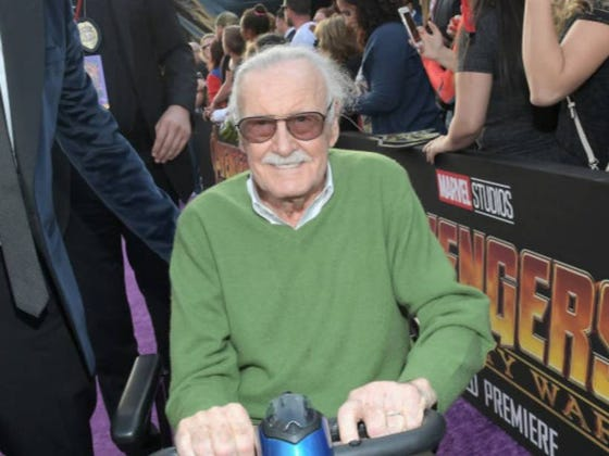 A 95-Year-Old Stan Lee Faced Down Two Armed Robbers in His Home