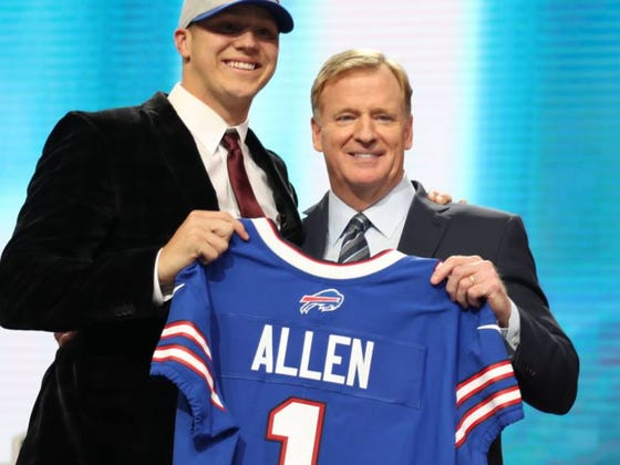 Buffalo Radio Producer Quits Job Because Bills Drafted Josh Allen