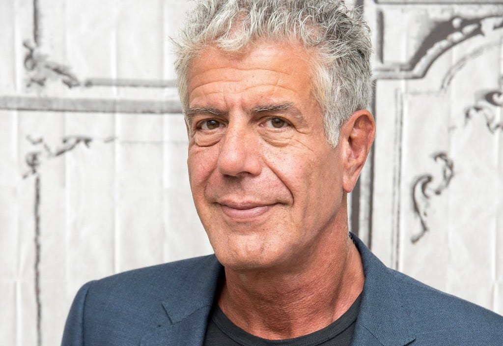 The Build Series Presents Anthony Bourdain Discussing The Online Film Series