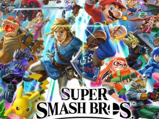 Spoiler Alert: New 'Super Smash Bros. Ultimate' Is Not A Porno For The Ladies