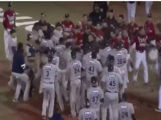 Bench-Clearing Brawls In Mexican League Baseball >>>>>> Bench-Clearing Brawls In Major League Baseball