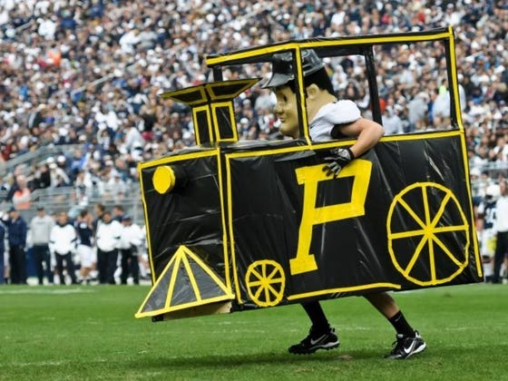 Purdue Installs Train Horn In Stadium That's As Loud As A Military Jet Taking Off (130 dB)
