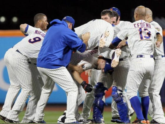 If The Mets Fought Each Other In A Massive 25-Man Brawl, Which Player Would Emerge As The Sole Survivor?