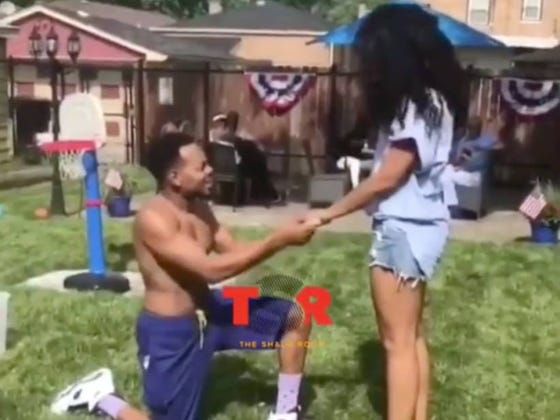 Chance The Rapper Got Engaged Yesterday