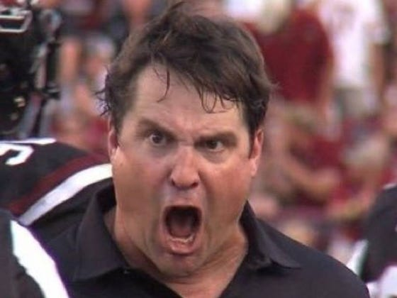 """Will Muschamp Wears All Black On Game Day To """"Look Skinnier"""""""