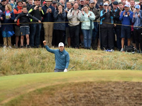 Jordan Spieth Is A Magician Around The Greens