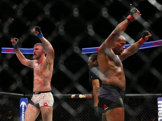 Two-Weight UFC Champ Daniel Cormier Ethered Alexander Gustafsson On Instagram Last Night Over A Call Out