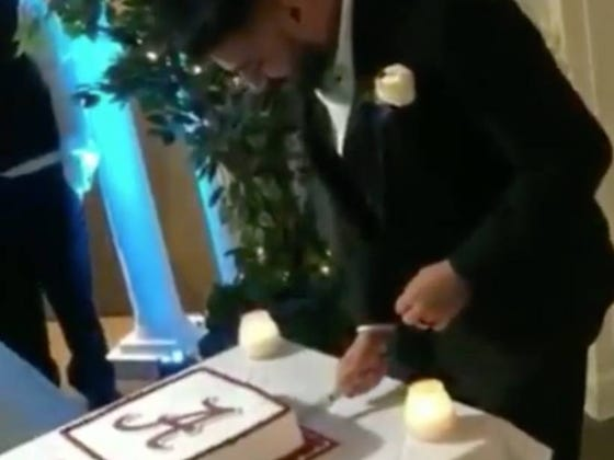 For First Time Since 2011, LSU Beats Alabama Thanks To Wedding Cake Stunt