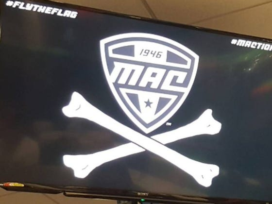 "#MACtion Commissioner Calls Conference Members ""Pirates,""  Gives Them Pirate Flag To Fly After Victories"