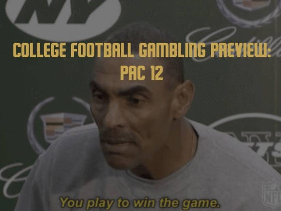 College Football Gambling Preview: Pac-12