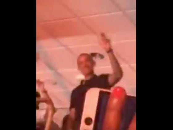 Barack Obama Was JAMMING At The Beyonce And Jay Z Concert Last Night