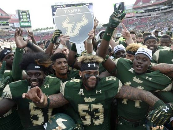"""One Rule For USF's New Stadium? Don't Have It Look Like UCF's """"High School Stadium"""""""