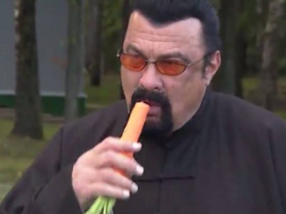 Russia Taps Steven Seagal As Special Envoy To U.S.
