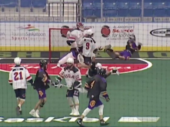 We Had A Rebound Behind-The-Back Crease Dive Goal Scored At The World Junior Lacrosse Championships. In Other Words, Pure Filth