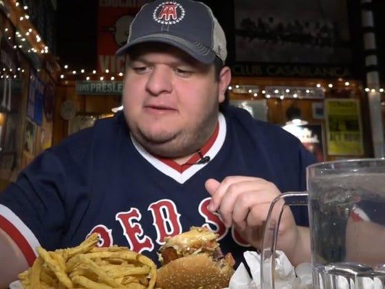Boozin' Burgers - Mr. Bartley's Burger Cottage (Cambridge, MA)