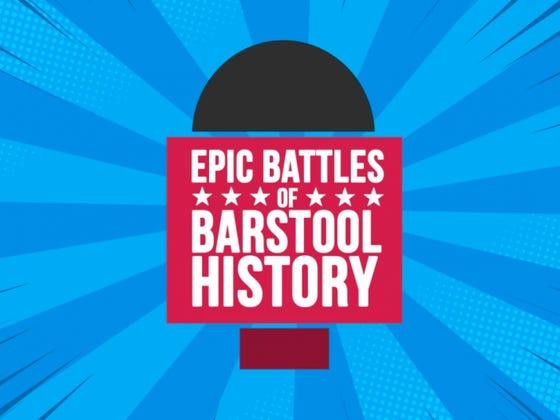 Epic Battles of Barstool History: Pirate Simon vs. Weird Haircut Seth