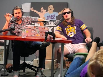Pardon My Take Undergoes Professional Cuddle Therapy