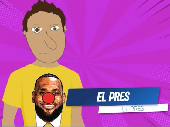 Epic Battles of Barstool History: El Pres vs LeBron