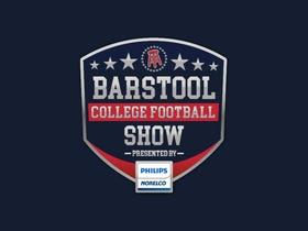 Barstool College Football Show presented by Philips Norelco - Week 1