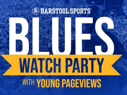 We're Throwing A Labatt Ripper Tonight At Hair Of The Dog In St. Louis For A Blues Banner Raising Watch Party